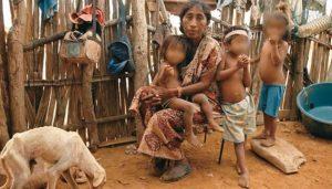 Niños desnutridos y sin educación en La Guajira
